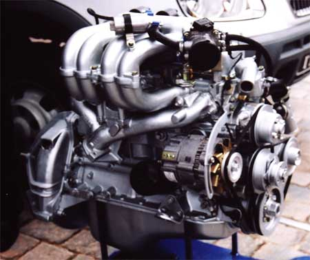 Двигатель  GAZ24RU