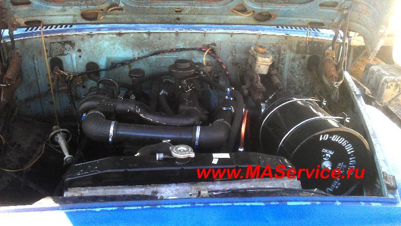 Переоборудование газ 3307 на дизель своими руками